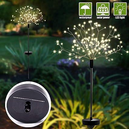 4-50X Solar Powered 6-LED Light Outdoor Garden Path Landscape Fence Yard Lamp BT