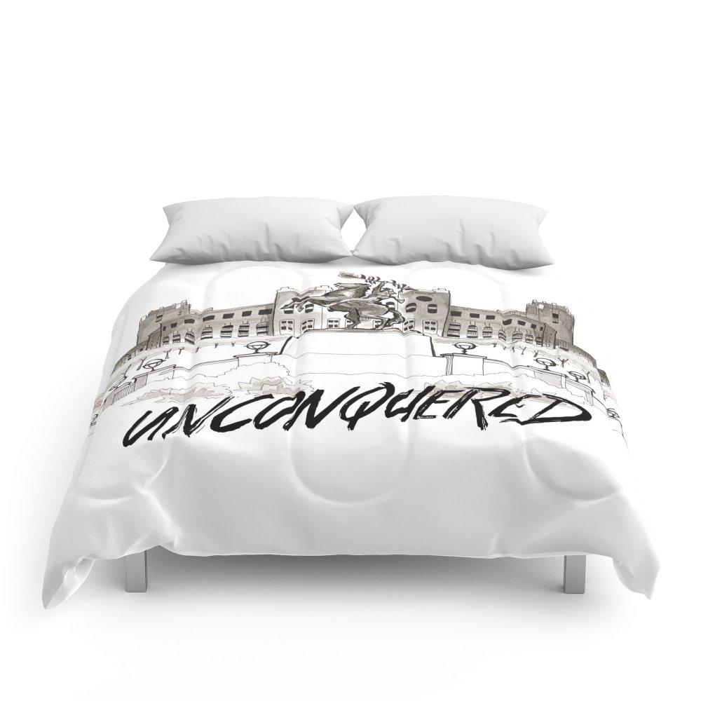 Society6 Unconquered - FSU Print Comforters King: 104'' x 88''