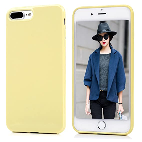 newest 8ead7 10826 Amazon.com: iPhone 7 Plus/iPhone 8 Plus Case, Clear Slim Phone Cover ...