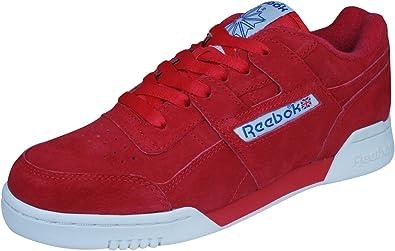 reebok sneakers red
