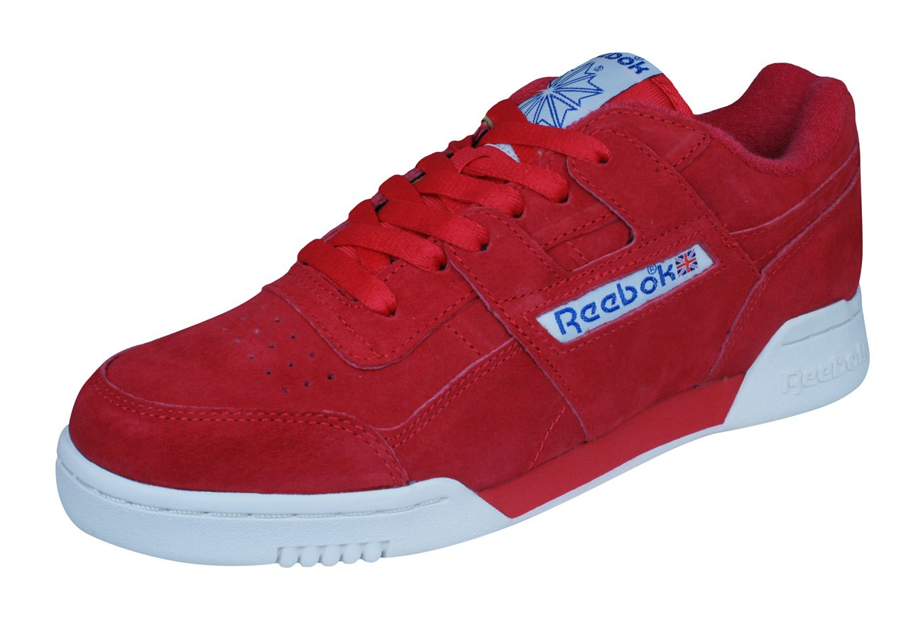 Reebok Classic Workout Plus Vintage Mens Sneakers/Shoes B01N7Y4956 7.5 D(M) US|Red