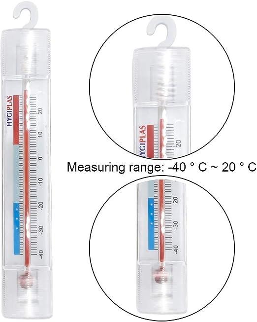 Compra RainBabe Termómetro para Frigoríficos y Congeladores ...