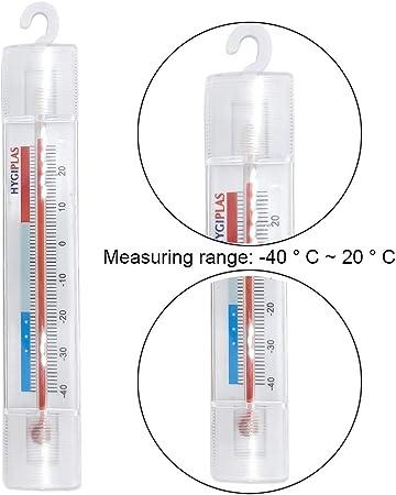 Robluee - Termómetros analógicos para frigorífico congelador con ...