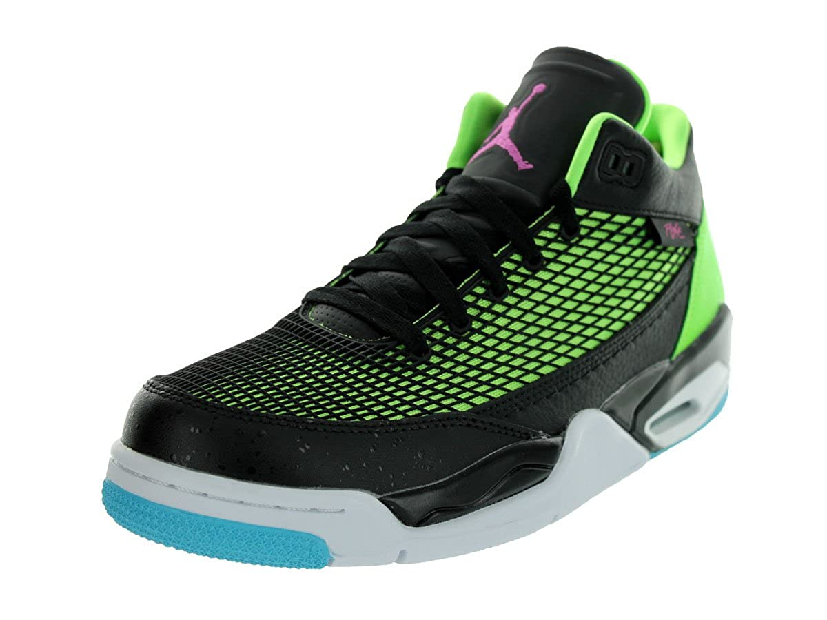 ed094d49e02 Jordan Flight Club 80's Men's Basketball Shoes Black/Club Pink-Flash  Lime-Gamma Blue 599583-032