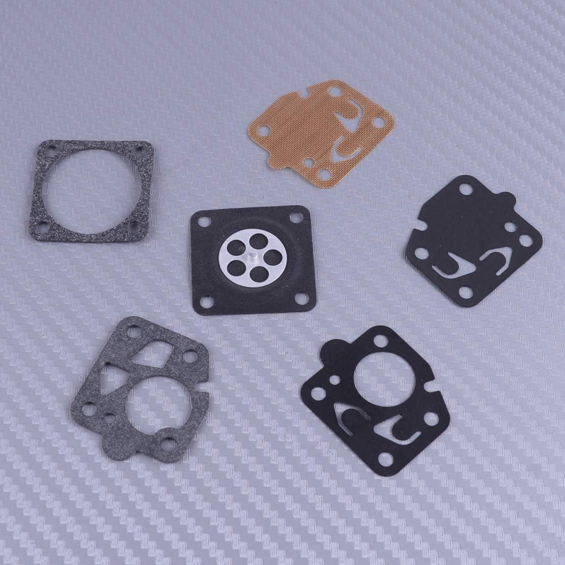 Eastar Vergaser Vergaserdichtung Reparatur Umbausatz Für Kawasaki Tg18 Tg20 Tg24 Tg28 Tg33 Tf22 Küche Haushalt