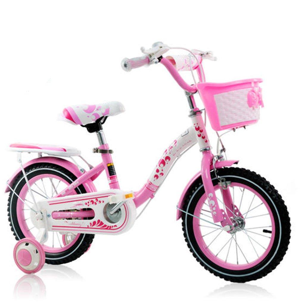 CGN子供用自転車、リトルベイビーチャイルドガールベビーキャリッジ自転車 soft B07CN7Y2VFピンク ぴんく 12\