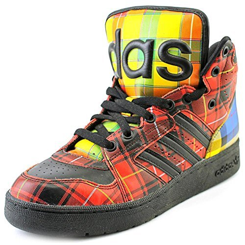 (Adidas JS INSTINCT HI by Jeremy Scott / Black / Q23667)