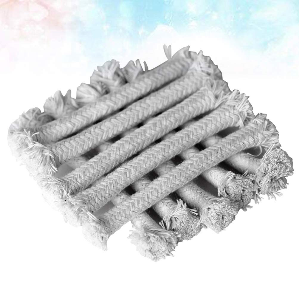 HEALIFTY 50pcs Braided Cotton Replacement Wick for Kerosene Alcohol Oil Candle Lamp Burner Lantern Stove 15cm