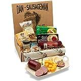 Dan the Sausageman's Yukon Gourmet Gift Basket -Featuring Dan's Original Sausage, 100% Wisconsin Cheese, and Dan's Sweet…
