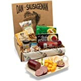 Dan the Sausageman's Yukon Gourmet Gift Basket -Featuring Dan's Original Sausage, 100% Wisconsin Cheese, and Dan's Sweet Hot