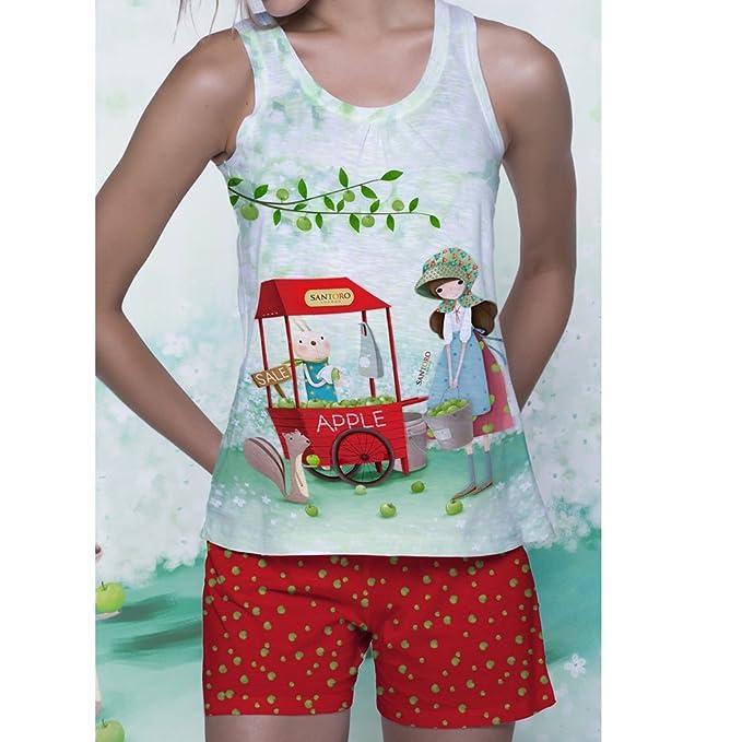 SANTORO LONDON Pijama Asas Santoro Niña Niñas Color Rojo Talla: 10