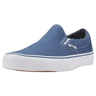 a7281ebc5a0 Vans Unisex Adults  Classic Slip-on Canvas Trainers  Amazon.co.uk  Shoes    Bags