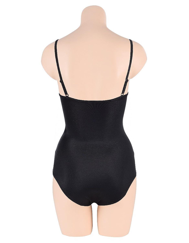 Bexleys Woman Damen Badeanzug mit Soft-Cups und verstellbaren Trägern schwarz