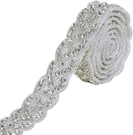 Rhinestone Clothes Applique Bridal Rhinestone Applique Bridal Belt
