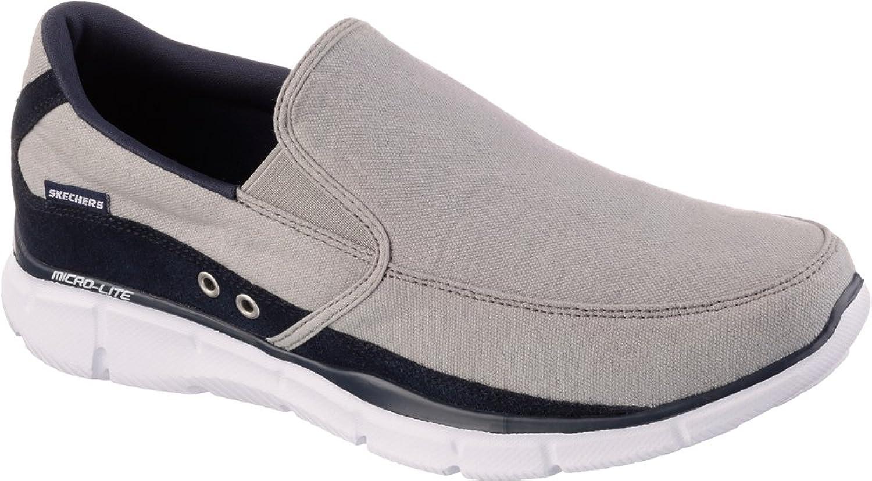 Skechers Men's Equalizer - Popular Demand -Grey/Navy new