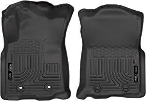 Husky Liners Fits 2016-17 Toyota Tacoma Double Cab/Access Cab - Automatic Transmission Weatherbeater Front Floor Mats