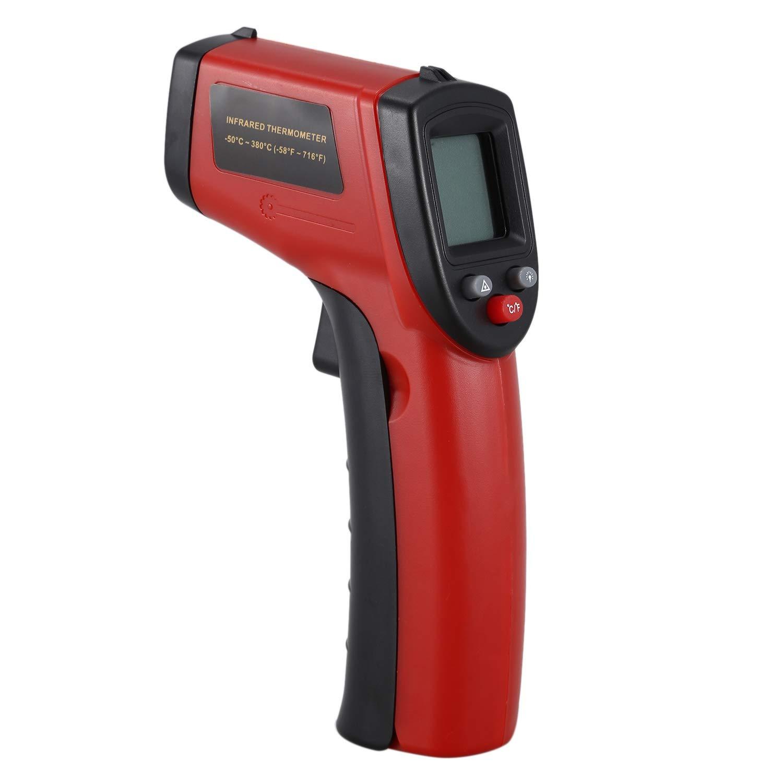 Fisso Semoic Digital Termometro A Infrarossi Rosso Pistola A Temperatura Ir Senza Contatto Emissivit/à A Lettura Immediata 0,95
