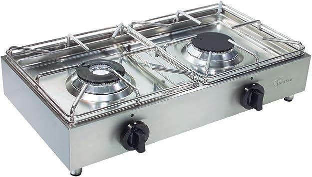 Camp 4 91759 - Cocina de Gas portátil Fabricada en Acero ...