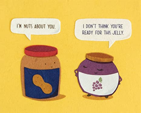 Amazon Fair Trade Food Funny Greeting Card