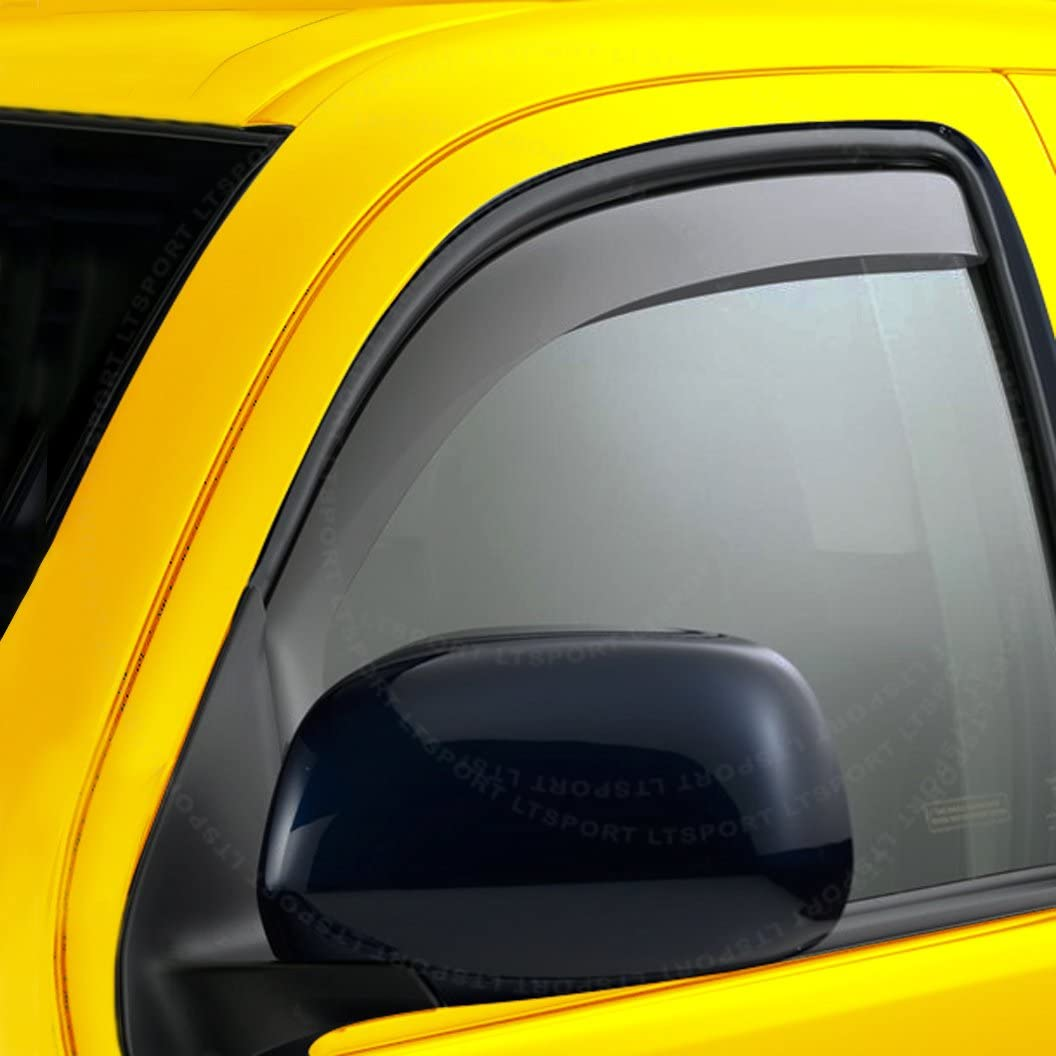 LT Sport Custom Fit 93-11 Ford Ranger Window Visor Rain Guard 2pcs Deflector