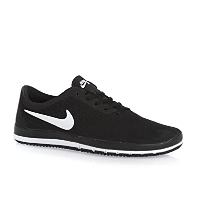 competitive price 753e0 2c450 Nike - Free SB Nano - Farbe Schwarz-Weiß - Größe 47.5