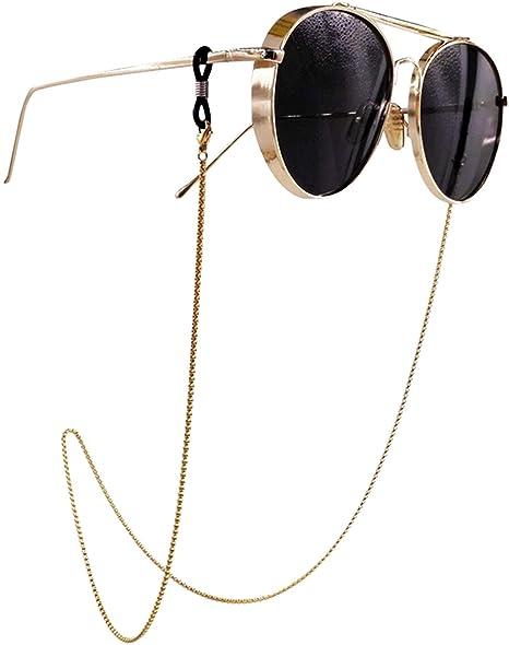 Amazon.com: Kalevel - Cadena para gafas de sol (acero ...