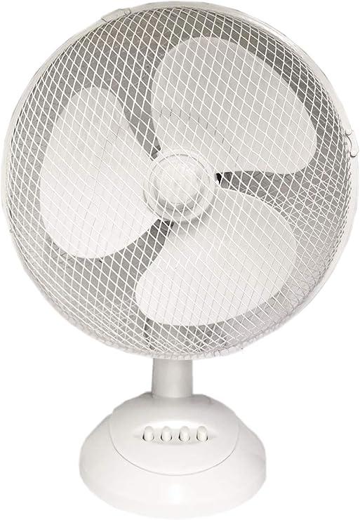 KDE Urban Ventilador DE Mesa SILENCIOSO 35W Blanco: Amazon.es: Hogar