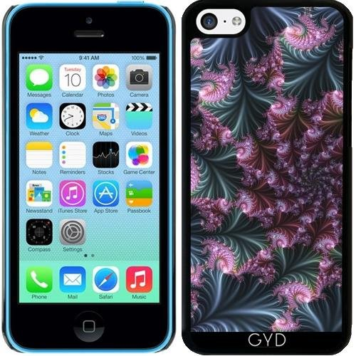Coque pour Iphone 5c - 3d Fractal by Dedoma