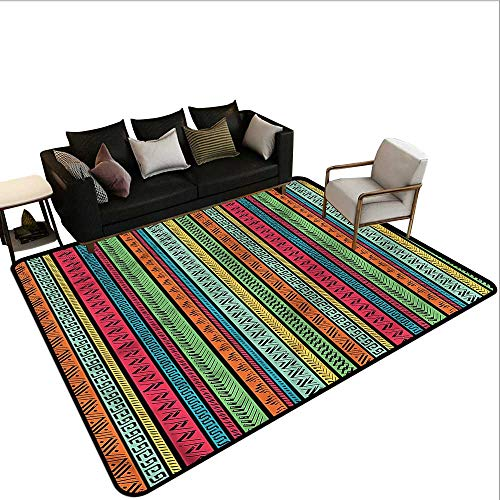 Hippie,Polyester Non-Slip Doormat Rugs 60