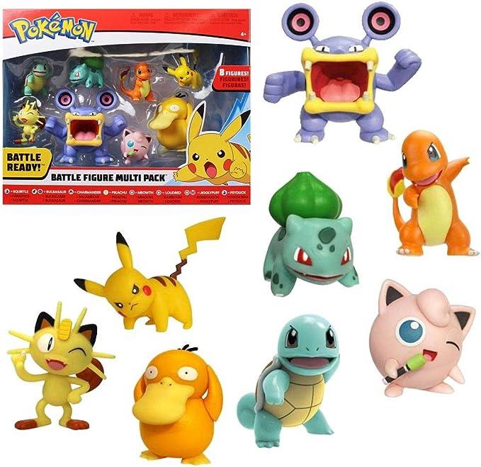 Pokémon Battle 8 Figurine Multipack WAVE 3