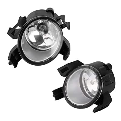 Fog Lights 12V 55W H11 Halogen Lamp Bulb Fit For 2004-2006 Quest 2005-2006 Altima Clear Lens: Automotive