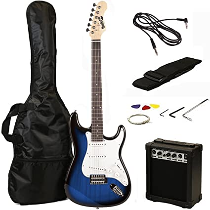 RockJam RJEG02 - Kit de iniciación para guitarra eléctrica ...