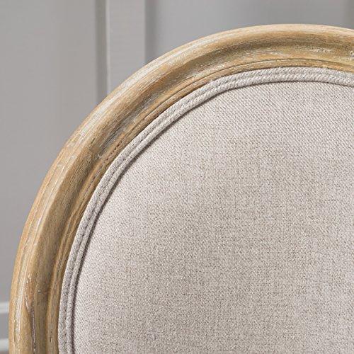 Christopher Knight Home 300258 Phinnaeus Beige Fabric Dining Chair (Set of 2), by Christopher Knight Home (Image #2)