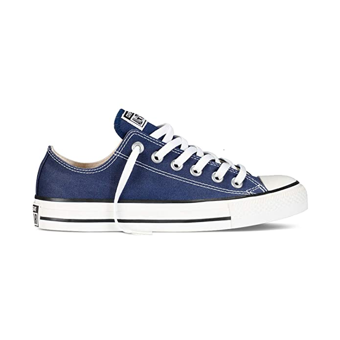 Converse Chucks All Star Chuck Taylor Low Top Erwachsene Damen Herren Blau