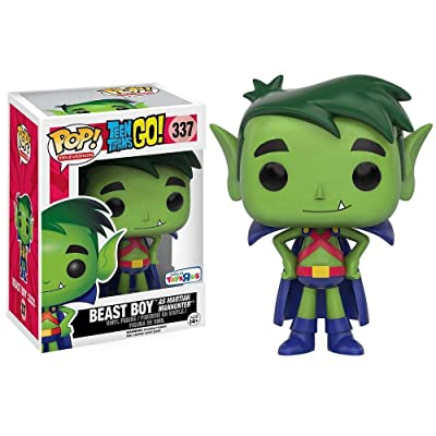 Funko POP! Television: Teen Titans GO: Beast Boy as Martian Manhunter TRU Exclusive: Toys & Games