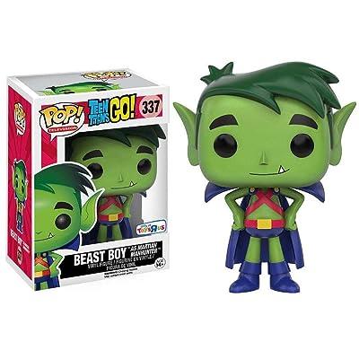 Funko POP! Television: Teen Titans GO: Beast Boy as Martian Manhunter TRU Exclusive: Toys & Games