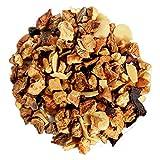 Capital Teas Premium Roasted Almond Tea, 16 Ounce -Fruity Herbal Tea, Loose Leaf, Decaf, Vitamin C, Protein Rich