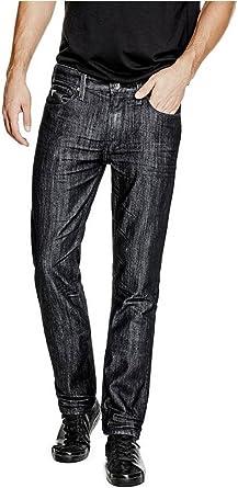 Amazon Com Guess Pantalones Vaqueros Rectos Para Hombre Clothing