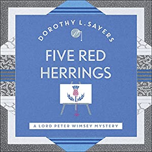 Five Red Herrings Hörbuch