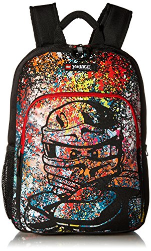 - LEGO Kids Ninjago Spraypaint Heritage Classic Backpack, Multi, One Size