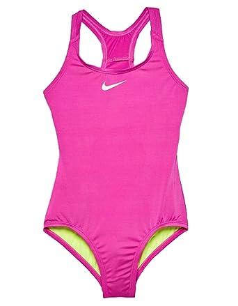 Nike TRAJE DE BANO PARA NINA FUCSIA NESS8600580: Amazon.es ...