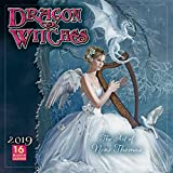 Dragon Witches The Art of Nene Thomas 2019 Wall Calendar, 12 x 12, (CA-0382)