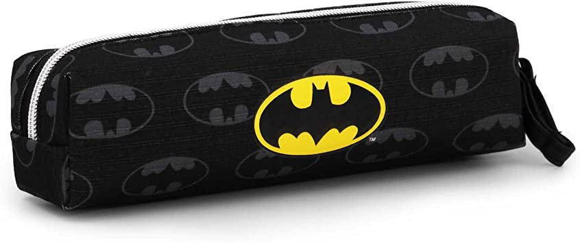 Batman Estuche portatodo Cuadrado, Color Negro, 22 cm (Karactermanía 33550): Amazon.es: Juguetes y juegos
