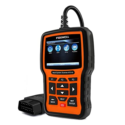 Diagnostic Scanner Automotive Scanner for BMW MINI, FOXWELL NT510 Obdii  Obd2 Code Reader Multi-System Diagnostic Scan Tool for