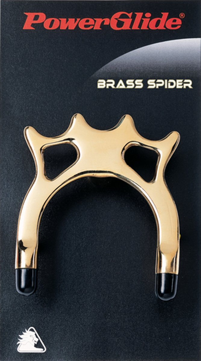 Powerglide Pool Snooker & Billiard Accessory Real Brass Spider Head Cue Rest
