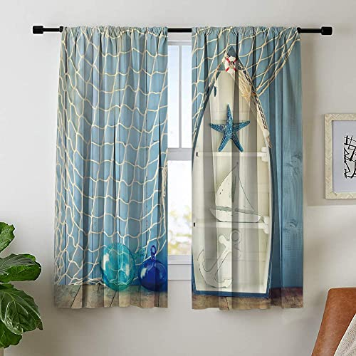 Misscc Room Darkening Blackout Curtain