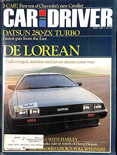 Car and Driver Magazine, May 1981