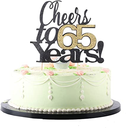 Amazon.com: LVEUD - Decoración para tarta de cumpleaños ...