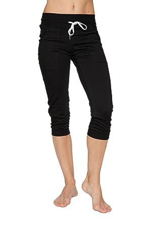 063f41018ebaf Amazon.com: 4-rth Womens Cuffed Jogger Yoga Pants: Clothing