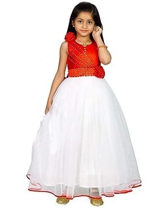 3350a36d59f2 MANNAT FASHION Baby- Girl s Kid s Party Wear Birthday Dress Princess ...